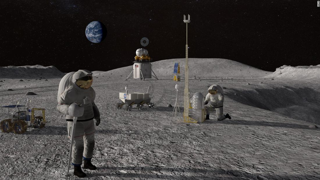 Program Artemis NASA wyląduje na Księżycu jako pierwsza kolorowa osoba