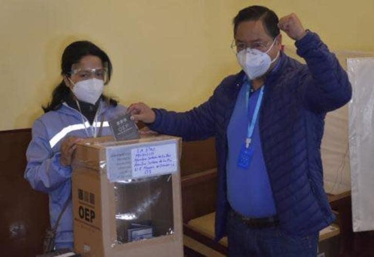 Prezydent Boliwii określa ten kraj jako punkt odniesienia dla demokracji w sytuacji pandemii podczas wyborów regionalnych