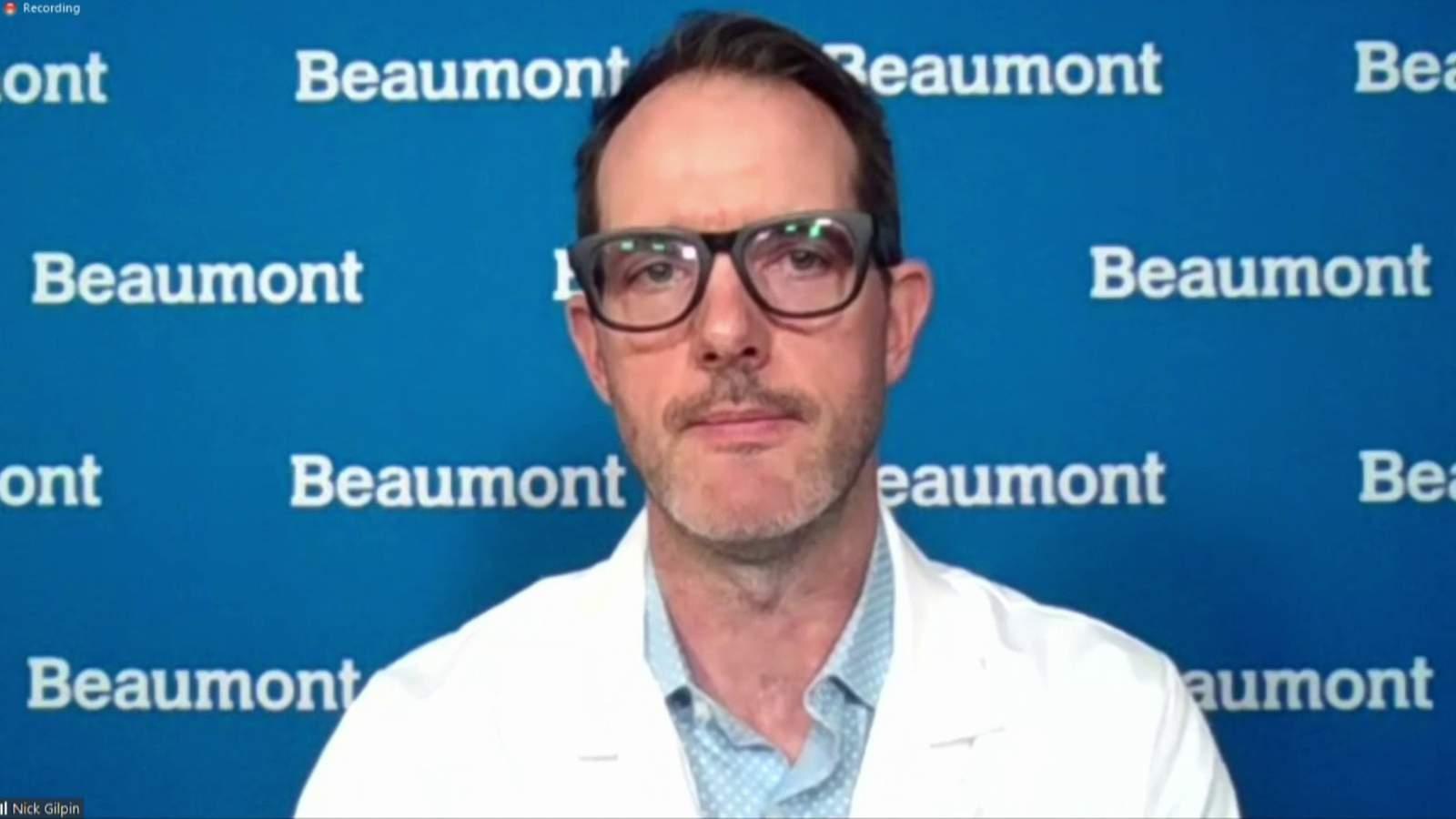 Urzędnik Beaumont Health uważa, że Michigan musi nałożyć więcej ograniczeń na COVID-19