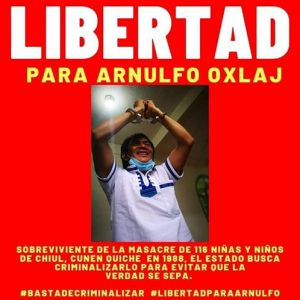 Proszą o solidarność ze świadkiem masakry w Szeolu w Gwatemali (+ zdjęcie) - Prensa Latina