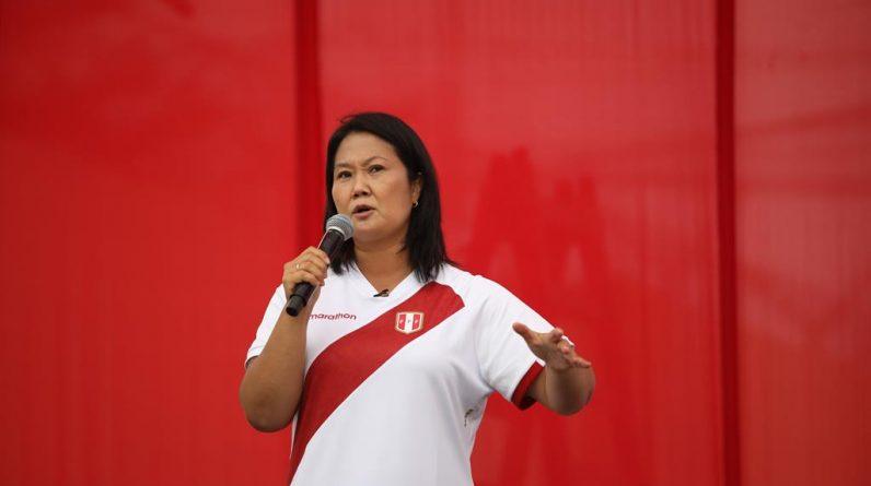 """Keiko Fujimori odrzuca wszelkie powiązania z atakiem """"Świetlistej Ścieżki"""", do którego nawiązuje Pedro Castillo"""