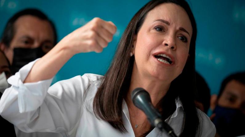 """Machado, opozycja, będzie uczestniczyć tylko w negocjacjach w sprawie """"wyzwolenia"""" Wenezueli"""