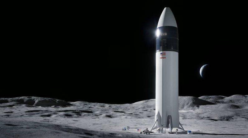 NASA zawiesza kontrakt księżycowy SpaceX o wartości 2,9 miliarda dolarów po protestach konkurentów