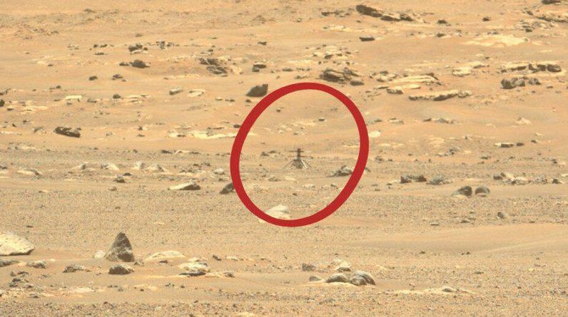 """Śmigłowiec NASA Creativity Mars przetrwał """"anomalię podczas lotu"""" podczas swojego szóstego lotu"""