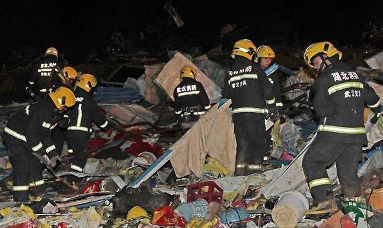 W wyniku tornada w Chinach zginęło 12 osób, a kilka zostało rannych