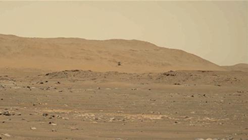 Wytrwałość NASA rejestruje wideo i audio z czwartego lotu twórczego - programu eksploracji Marsa NASA