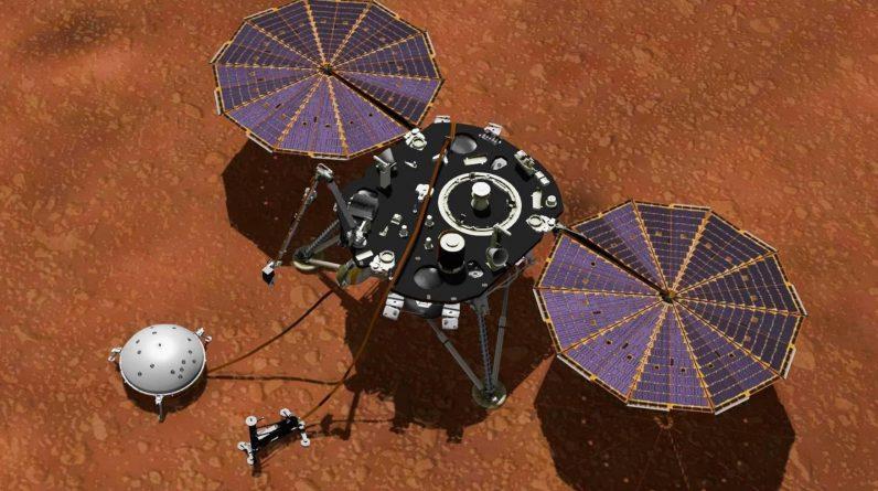 Łazik Mars Insight z NASA celowo obsypał się brudem