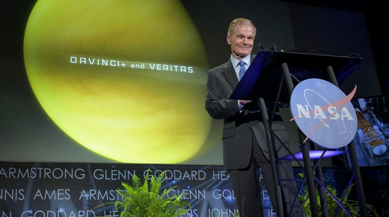 Dyrektor NASA szczegółowo opisuje misje na Księżyc, Marsa, Wenus i wysiłki agencji na Ziemi