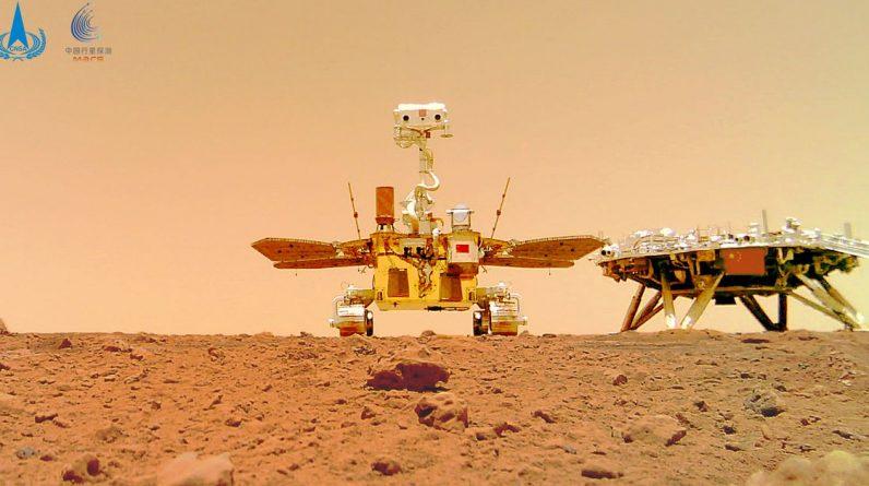Chiński łazik Zhurong wysyła selfie z Mars