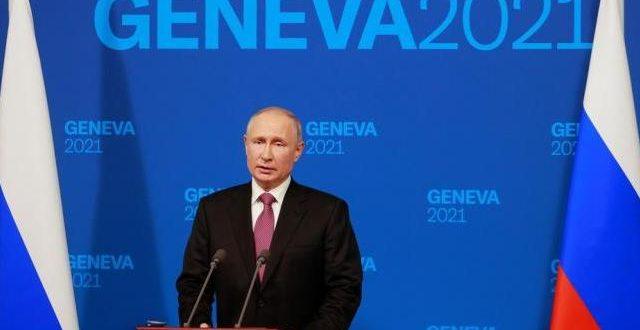 Putin zorganizował konferencję prasową po szczycie z Bidenem w Genewie - Escambrai