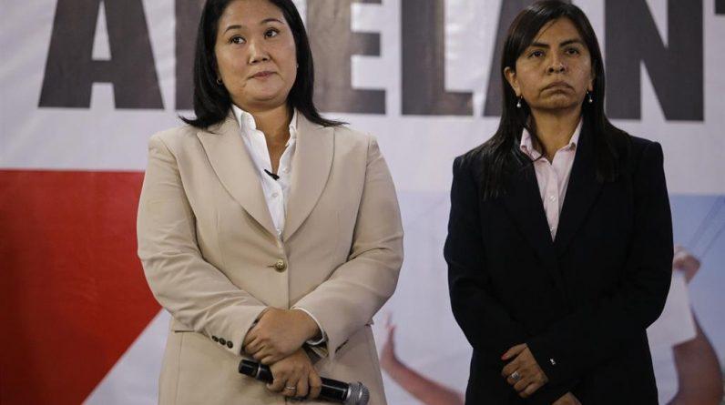 Fujimori ponownie kwestionuje wynik wyborów i oskarża prezydenta Sagaste o wtrącanie się