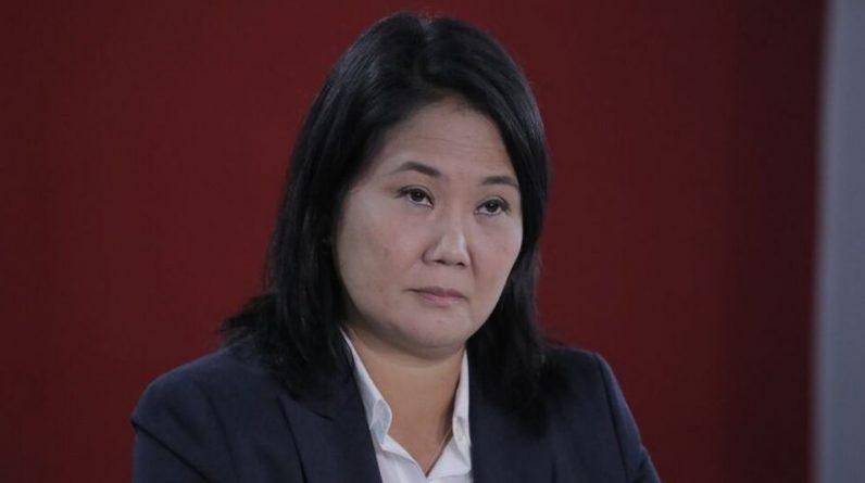 Fujimori wywołuje napięcie wyborcze w Peru i wzywa do uchylenia głosów Castillo