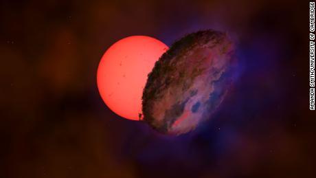 W pobliżu środka Drogi Mlecznej zauważono migającą gigantyczną gwiazdę