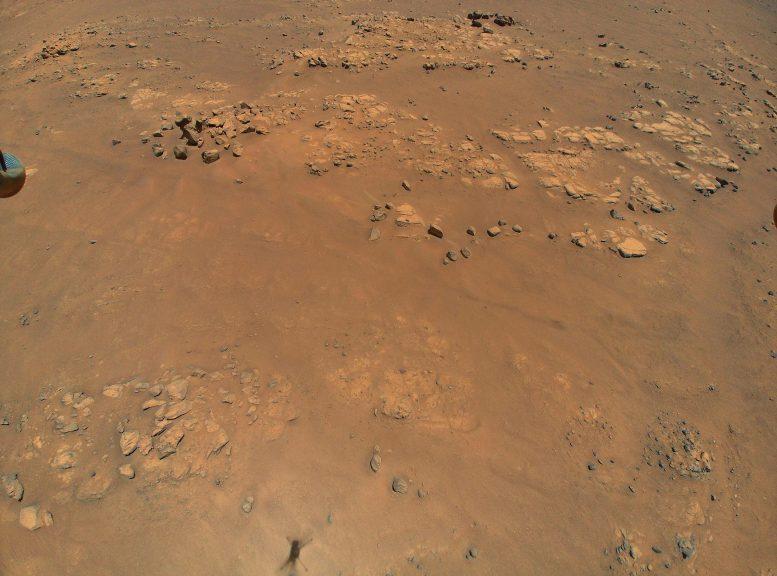 Podniósł brzegi Marsa