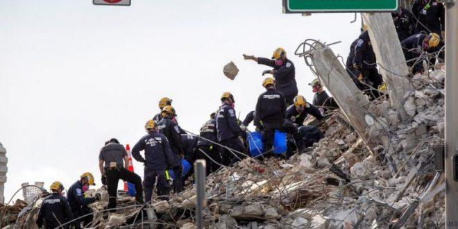 Liczba ofiar śmiertelnych z powodu zawalenia się budynku Miami-Dade wzrasta do 94 - Escambrae