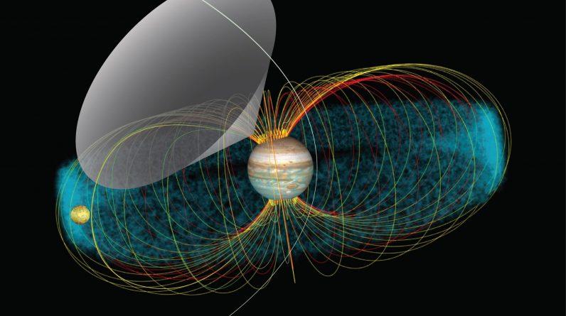 Usłysz przerażające emisje radiowe z sondy Juno NASA zarejestrowanej z Jowisza i jego księżyca Io