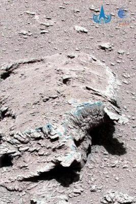 Chiny Zhurong Mars Rover 2