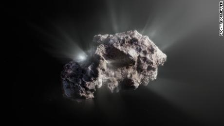 Nieskazitelna kometa międzygwiezdna pochodzi z układu zawierającego planety olbrzymy