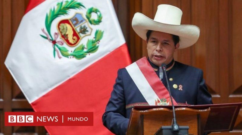 Pedro Castillo: Pięć kluczowych przesłań z przemówienia inauguracyjnego jako prezydent Peru
