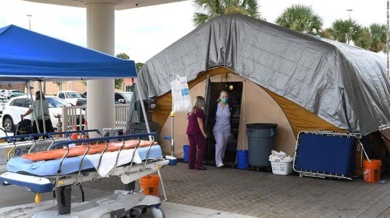 Koronawirus w USA: Eksperci ostrzegają, że fala infekcji Covid-19 dla osób nieszczepionych dopiero się rozpoczyna