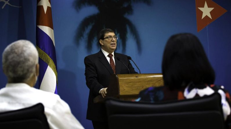 """Kuba: Rodriguez jest brzydki dla Urugwaju i Brazylii za wspieranie protestów opartych na """"ignoracji rzeczywistości"""""""