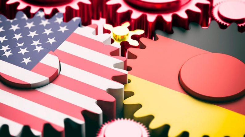 Spory strategiczne i zobowiązania krótkoterminowe między Niemcami a Stanami Zjednoczonymi.