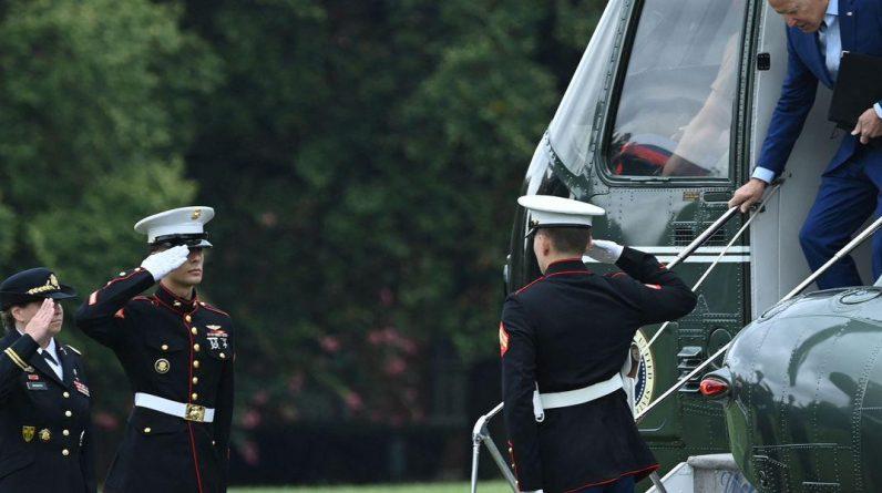 Biden honoruje szczątki żołnierzy zabitych w Afganistanie po przybyciu do Stanów Zjednoczonych