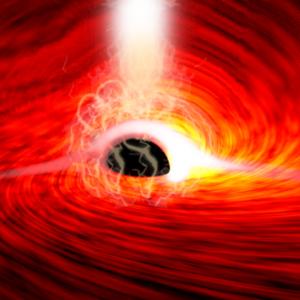 Astronomowie po raz pierwszy wykryli światło zza czarnej dziury – po raz kolejny udowadniając, że Einstein miał rację