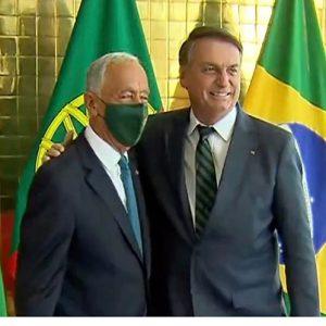 Bolsonaro i Rebelo de Sousa aktywują dialog między Brazylią a Portugalią - Prensa Latina