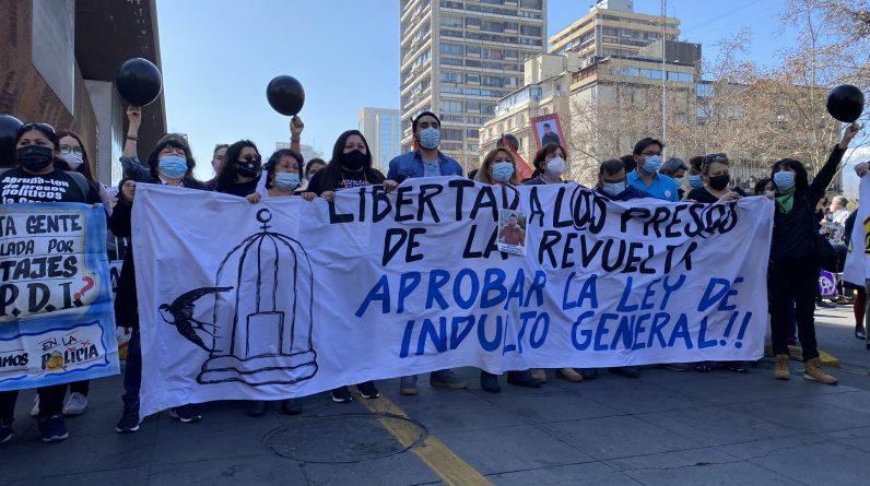 Marzec w Chile, aby zatwierdzić ogólną amnestię