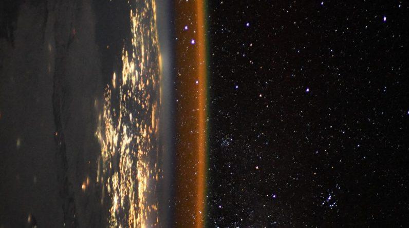 Astronauta na stacji kosmicznej uchwycił zapierający dech w piersiach widok krawędzi Ziemi