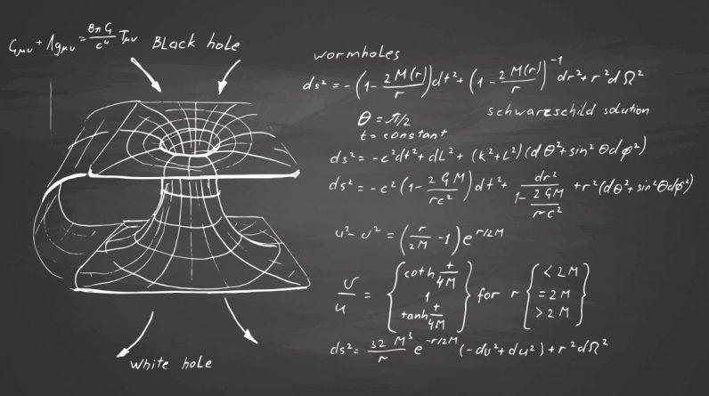 Dziwny matematyczny termin, który zmienia cały nasz pogląd na czarne dziury