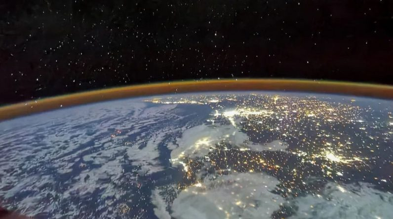 Epickie obrazy z chińskiej stacji kosmicznej oferują wspaniałe widoki na Ziemię