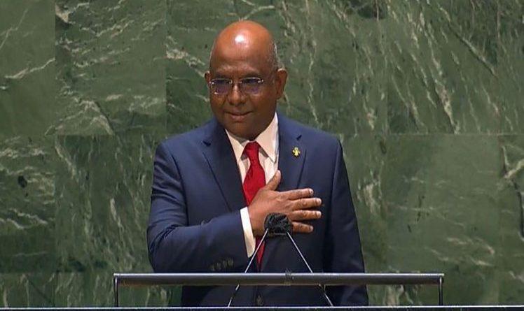 Malediwy Minister Spraw Zagranicznych przejmuje przewodnictwo w Zgromadzeniu Ogólnym ONZ