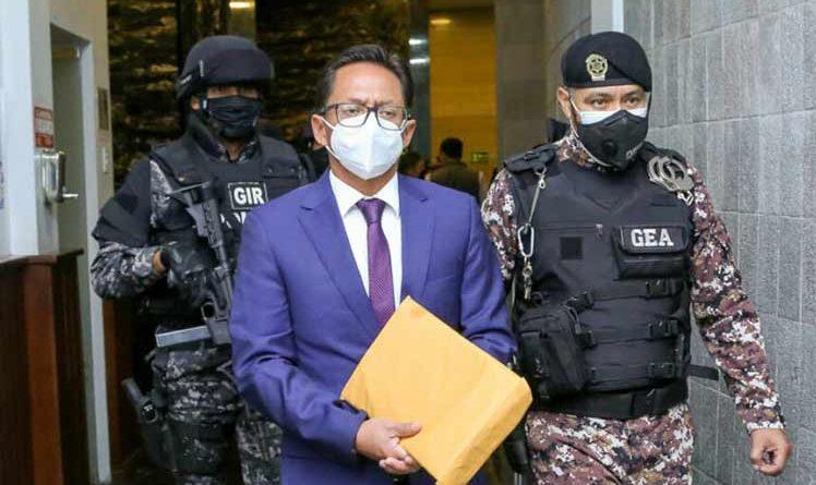 Obserwatorzy parlamentu i ekwadorski ombudsman zwolniony (+ zdjęcie)