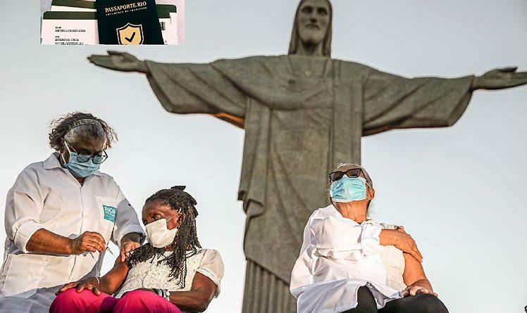 Paszport szczepień przeciwko Covid-19 wszedł w życie w Brazylii w Rio