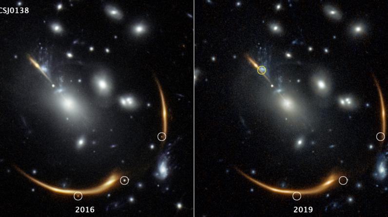 Słaba supernowa pojawi się około 2037