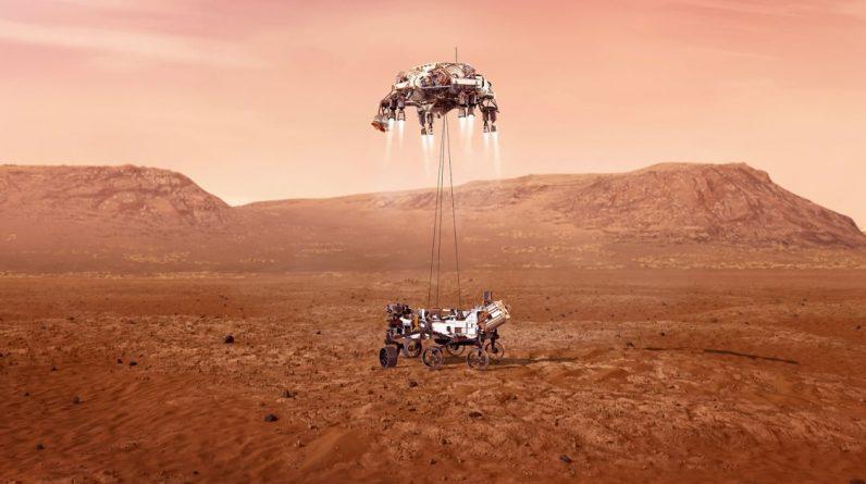Uparty łazik znajduje dowody na dawne powodzie na Marsie, twierdzą naukowcy