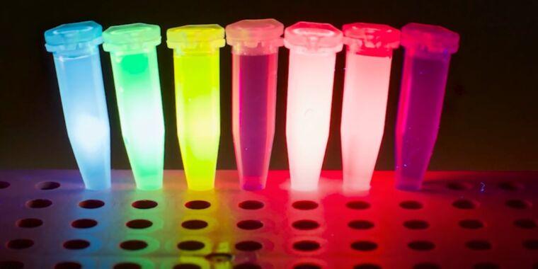 Nowatorski papier Michaela Faradaya jest przechowywany cyfrowo w barwnikach fluorescencyjnych
