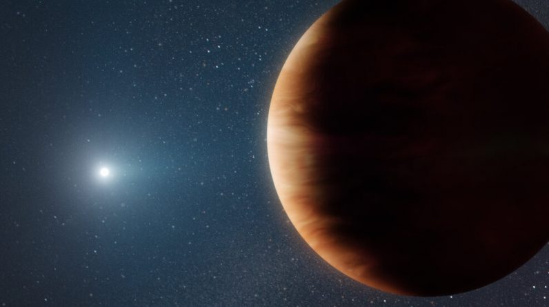 Astronomowie znajdują planetę, która przeżyła śmierć swojej gwiazdy