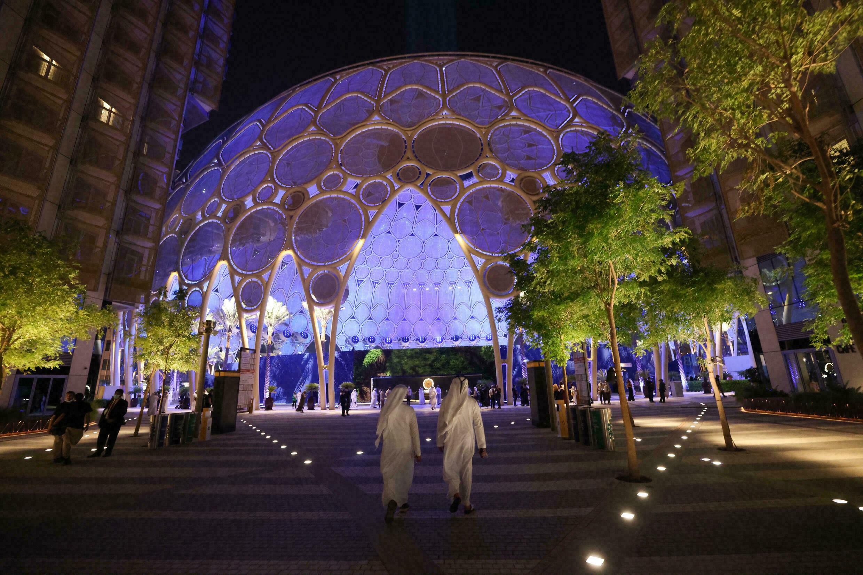 Obiekty Expo 2020 w Dubaju, 30 września 2021 r.